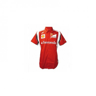 Scuderia Ferrari Man Shirt Red Size M