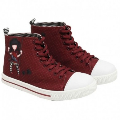 Gorjuss red sneakers boots