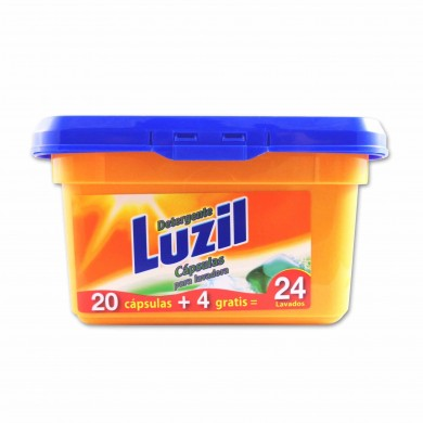 Luzil Washer Detergent Capsules - 400g + 80g Free